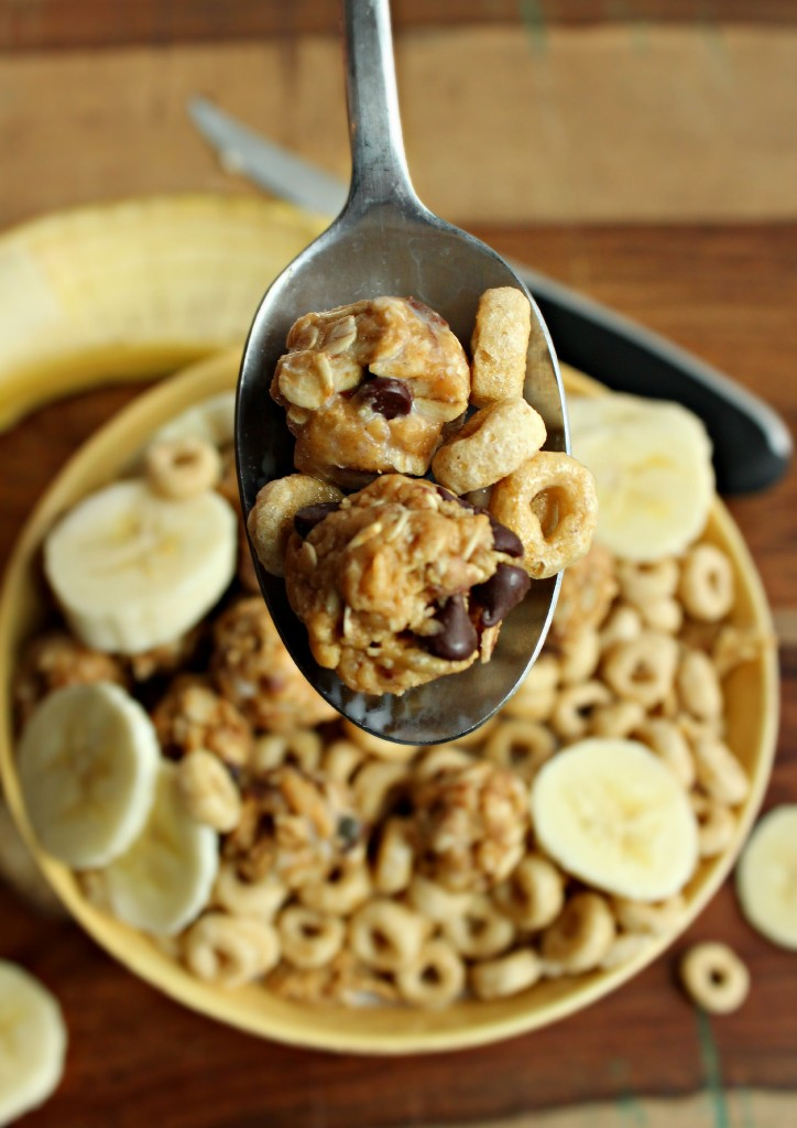 Cookie Dough Breakfast Cereal Spoonful