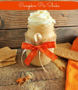 Skinny Pumpkin Pie Shake