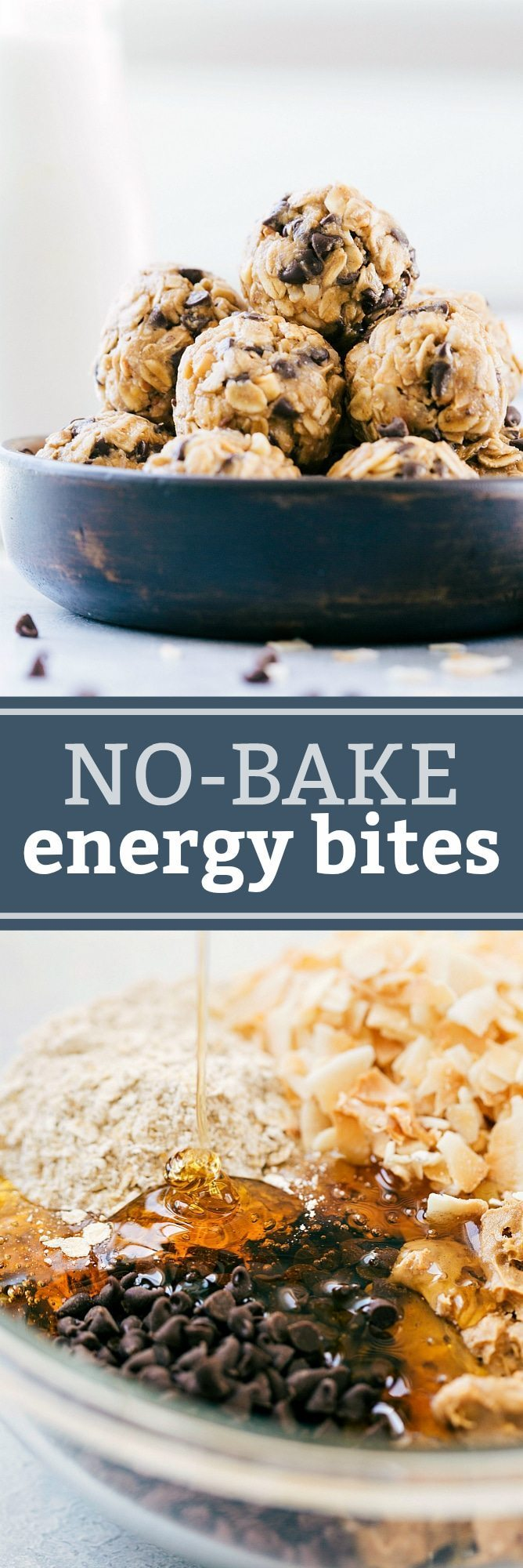 The ultimate BEST EVER no-bake ENERGY BITES! Quick, easy, and healthy! via chelseasmessyapron.com
