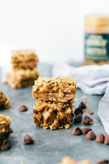 Cookie Butter Oatmeal Bars