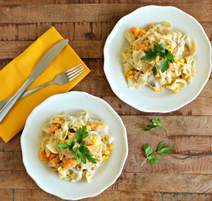 Creamy Sweet Potato Pasta Casserole 2