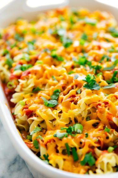 Cheesy Taco Lasagna