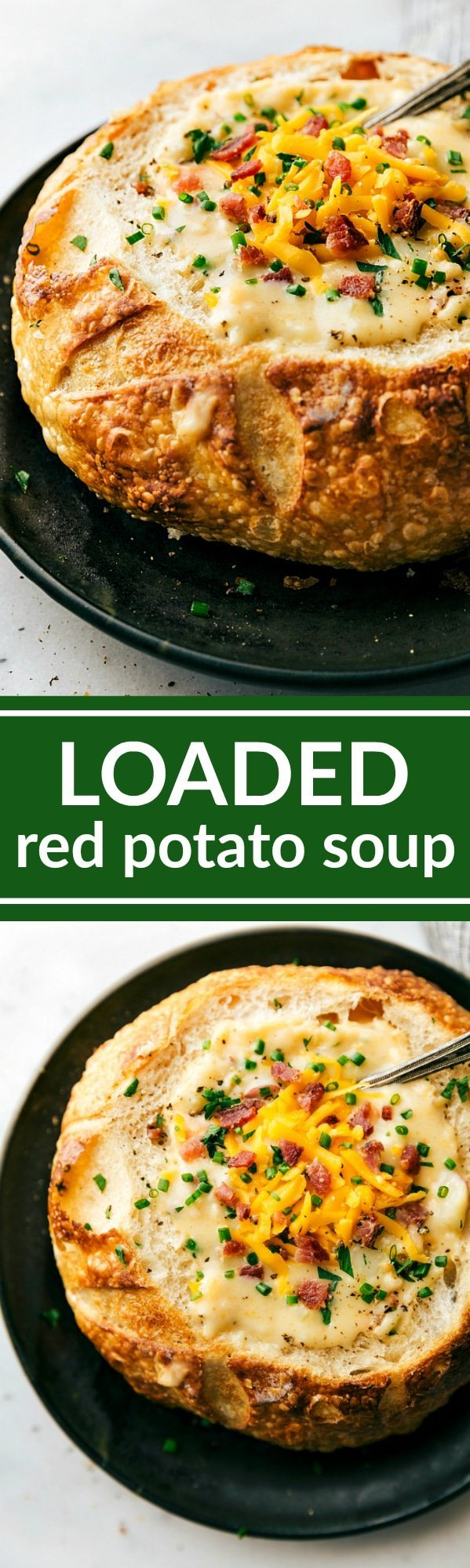 Loaded Red Potato Soup - Chelsea's Messy Apron