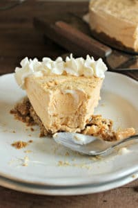 Frozen (NO BAKE) Pumpkin Cheesecake