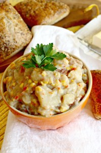 Red Potato and Corn Crockpot Soup
