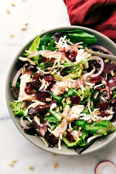 Turkey & Cranberry Salad (Kneader's Copycat)
