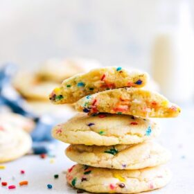 Soft-Baked Funfetti Cookies