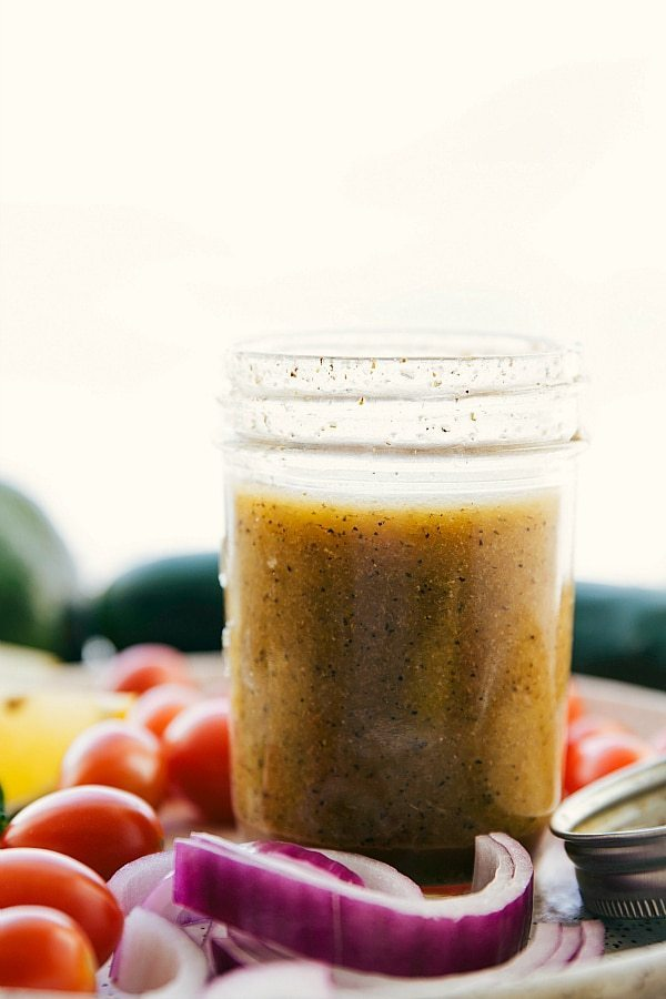 Greek quinoa salad dressing