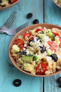 Healthy Quinoa Greek Salad