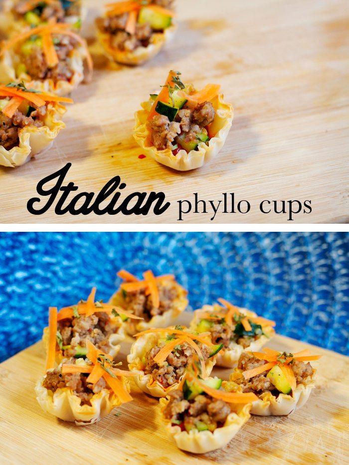 Italian Phyllo Cups