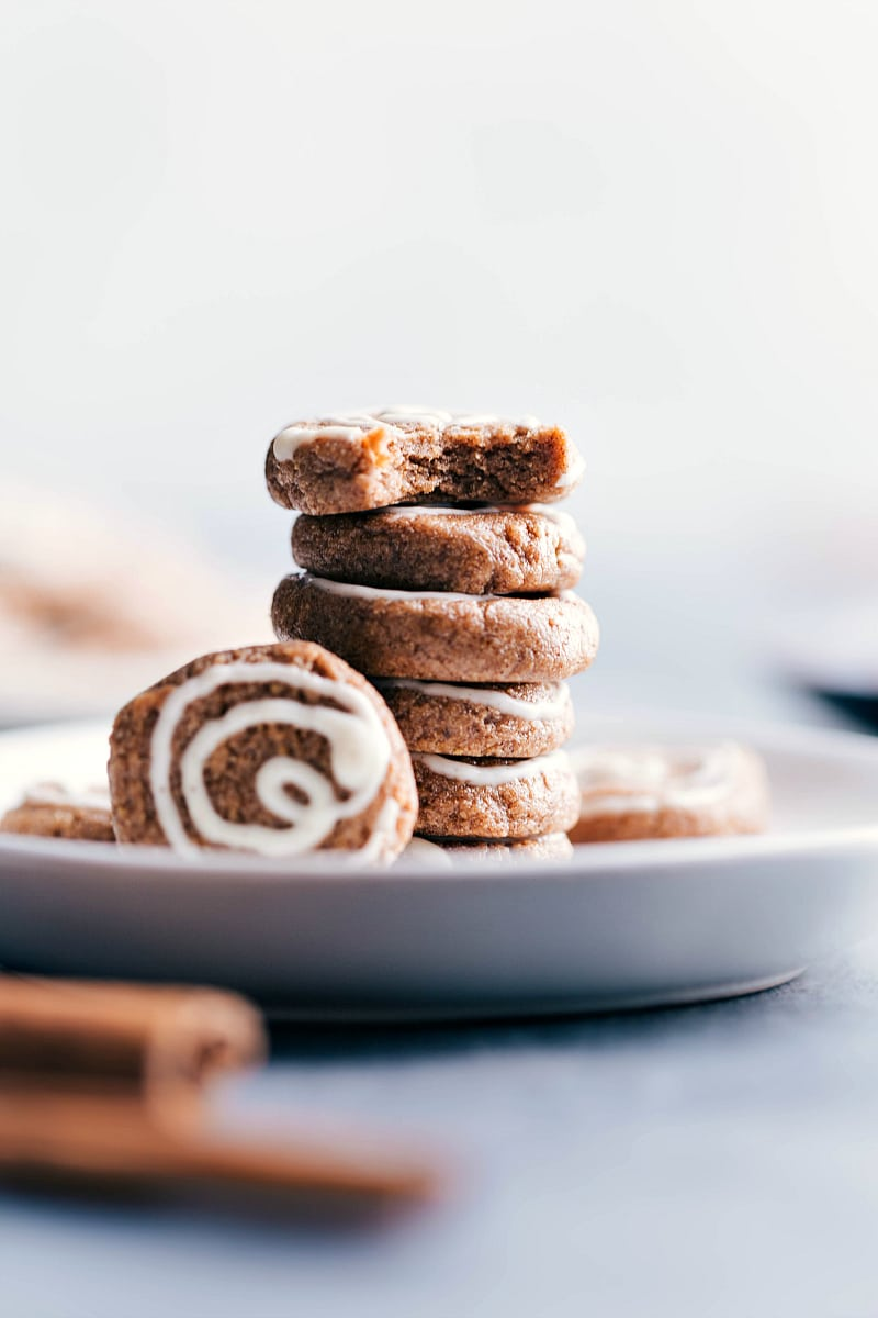 Image of Protein Breakfast Cookies on a plate.