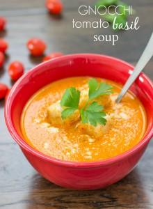 Gnocchi Tomato Basil Soup