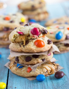 Delicious Take 5 Candy Bar Cookies