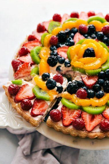 """Fruit Pizza"" Cheesecake Tart"