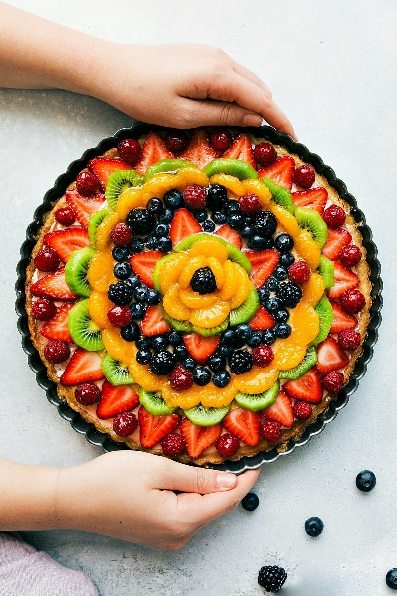 Quot Fruit Pizza Quot Cheesecake Tart Chelsea S Messy Apron