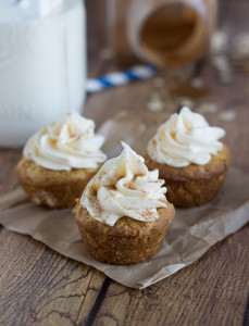Carrot Cake Cookie Cups