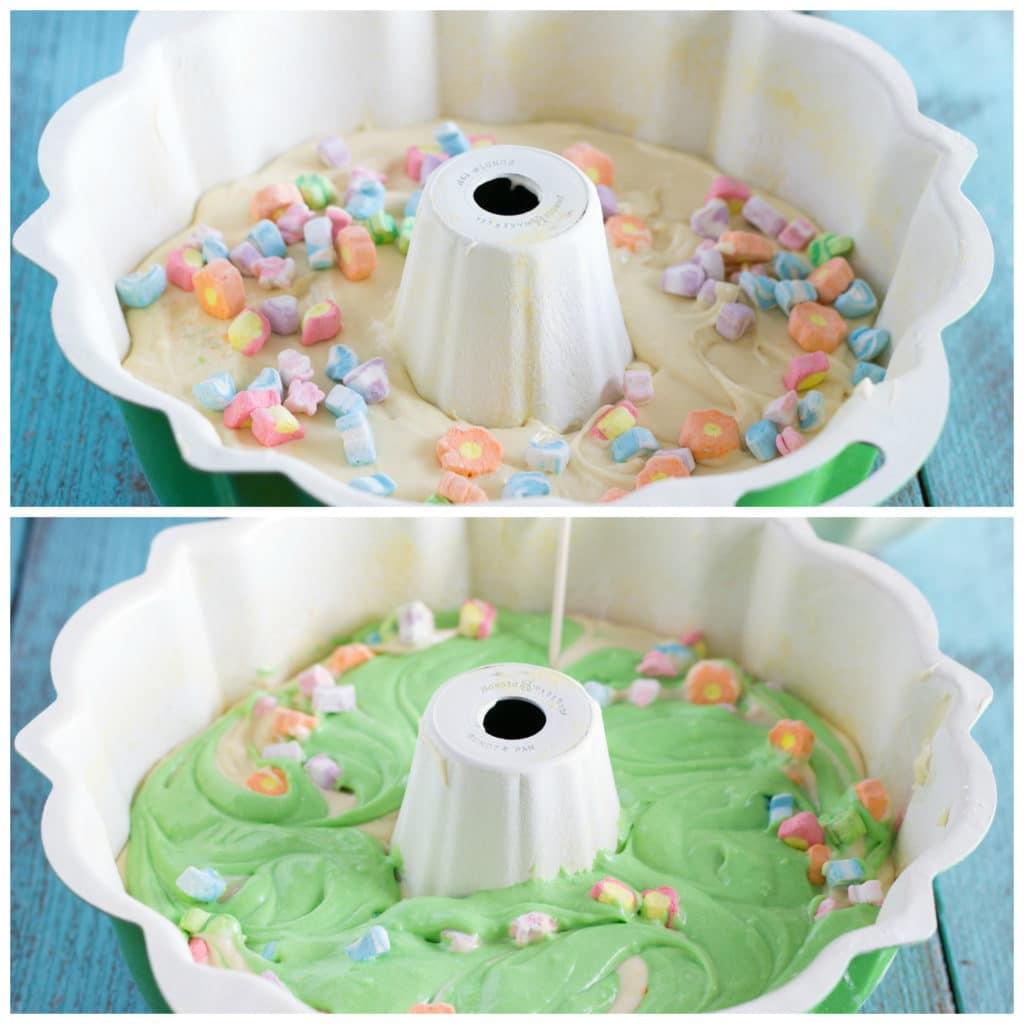 St. Patrick's Day Bundt Cake
