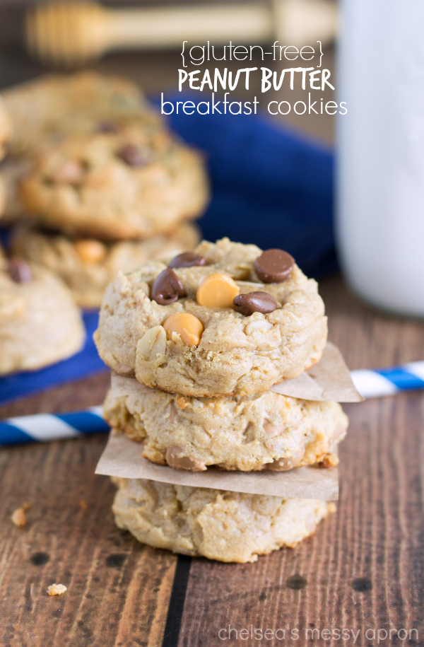 {Healthy + Flourless} Glazed Apple Pie Cookies | Chelsea's ...