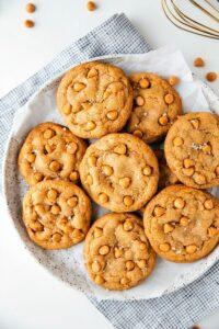 Softest Butterscotch Cookies