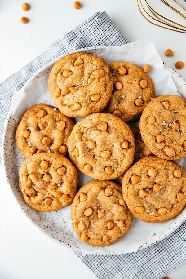 Softest Butterscotch Cookies