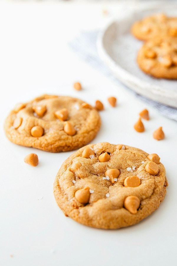 Ultra soft butterscotch cookies
