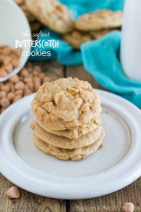 {Softest Ever} Butterscotch Cookies