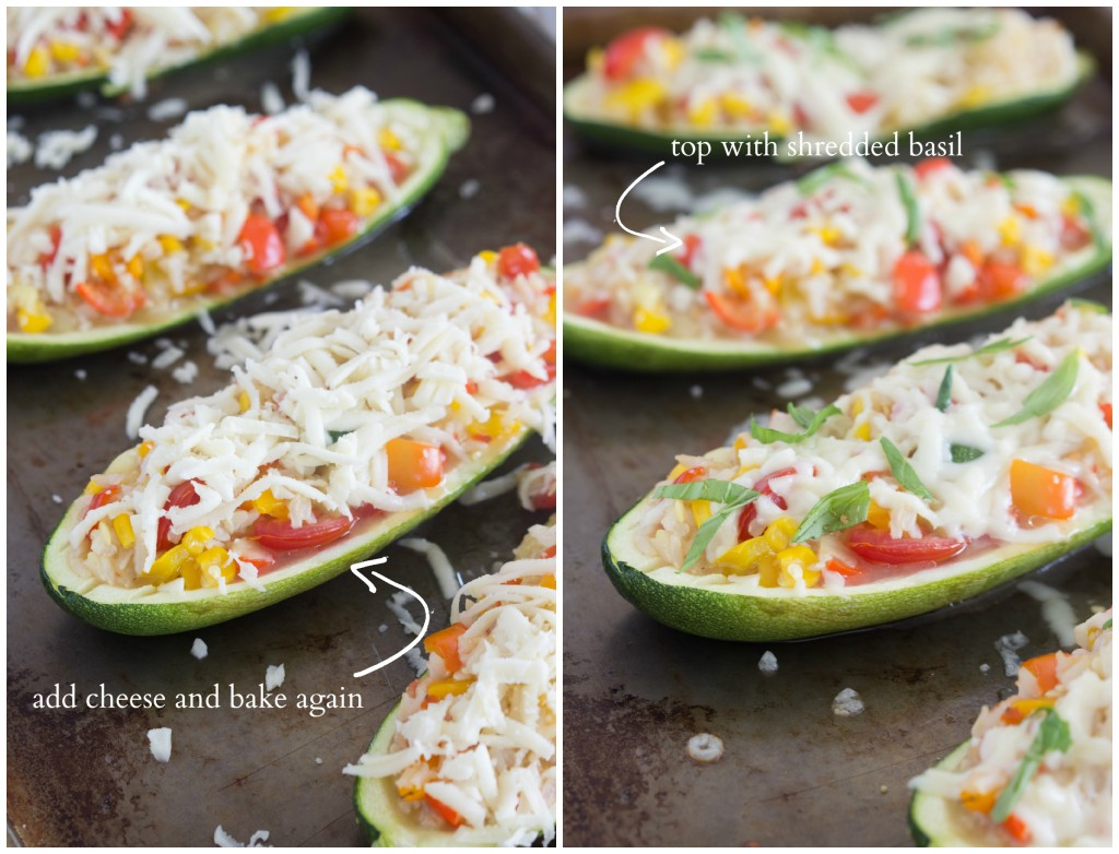 Twice-baked zucchini boats made with Italian flavors. These zucchini boats are so delicious, fresh, and good-for-you.