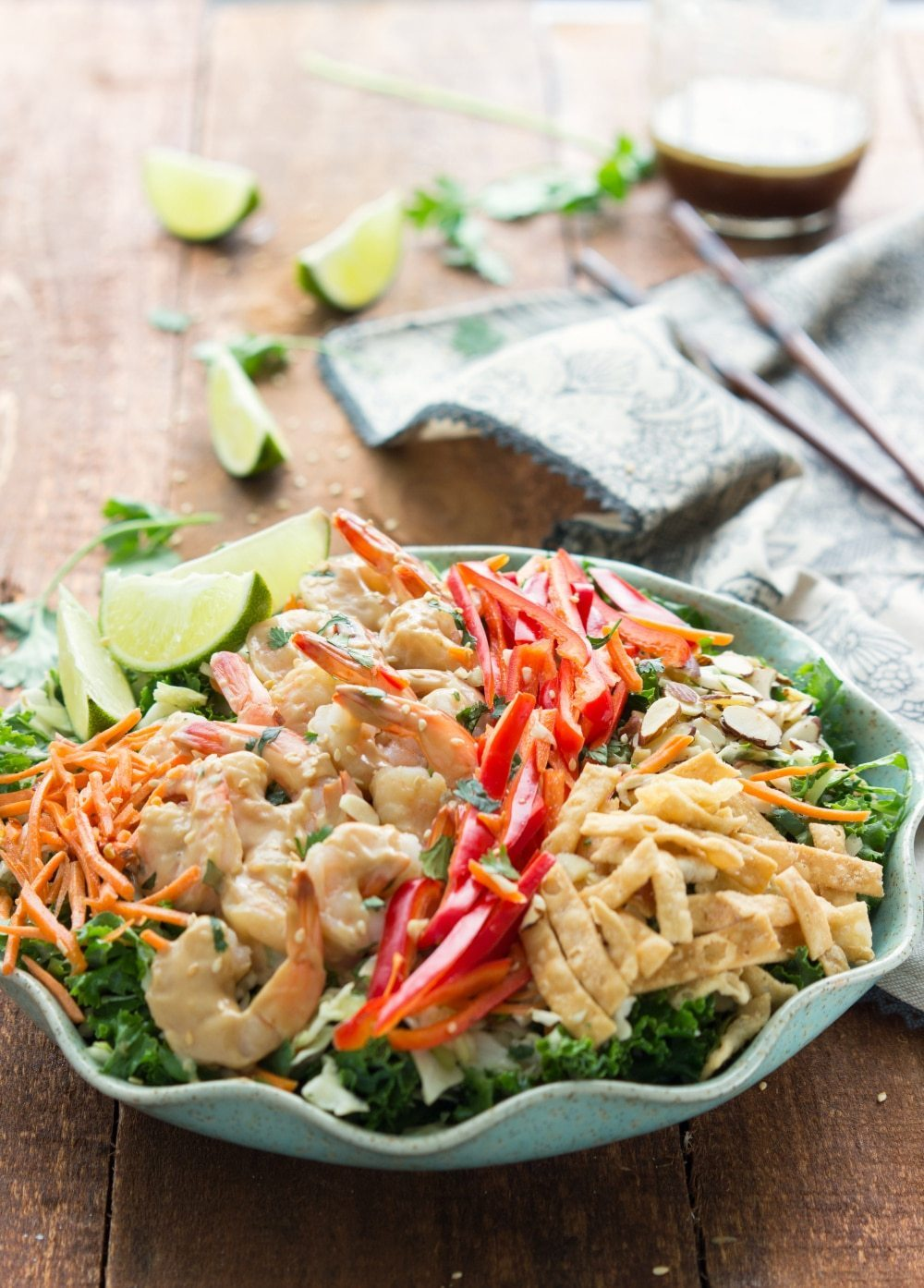 Thai Shrimp Salad - Chelsea's Messy Apron