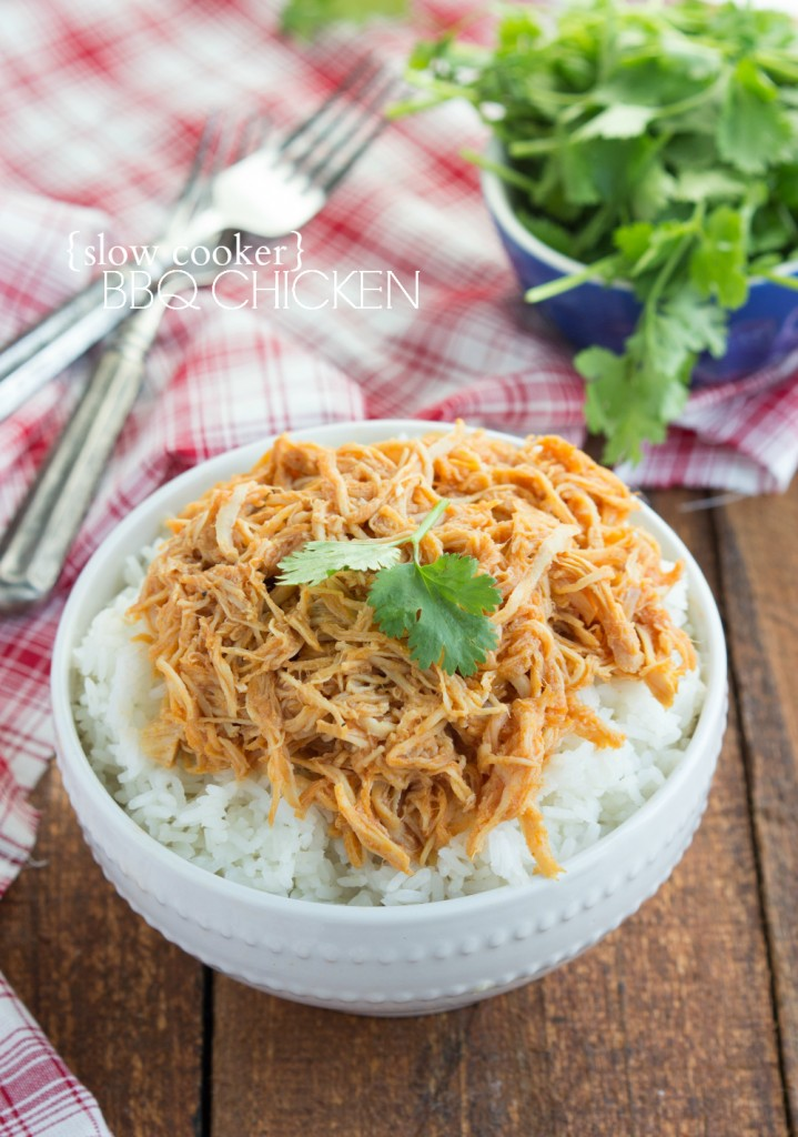 shredded BBQ chicken is a simple, zesty, and flavorful shredded BBQ ...