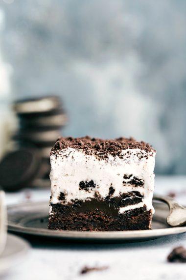 Brownie Oreo Ice Cream Bars