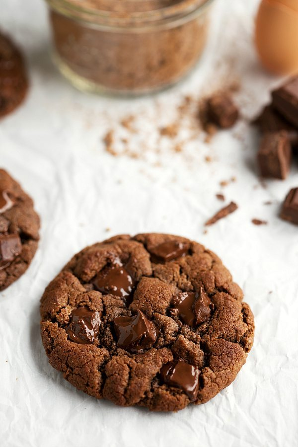 Double Chocolate Cookies Without Brown Sugar