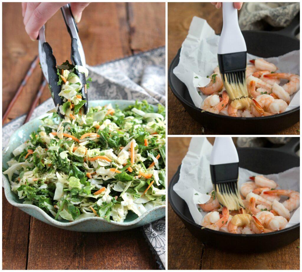 An Applebee's copy-cat salad! Thai Shrimp Salad