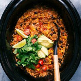 Quinoa Enchilada Crockpot