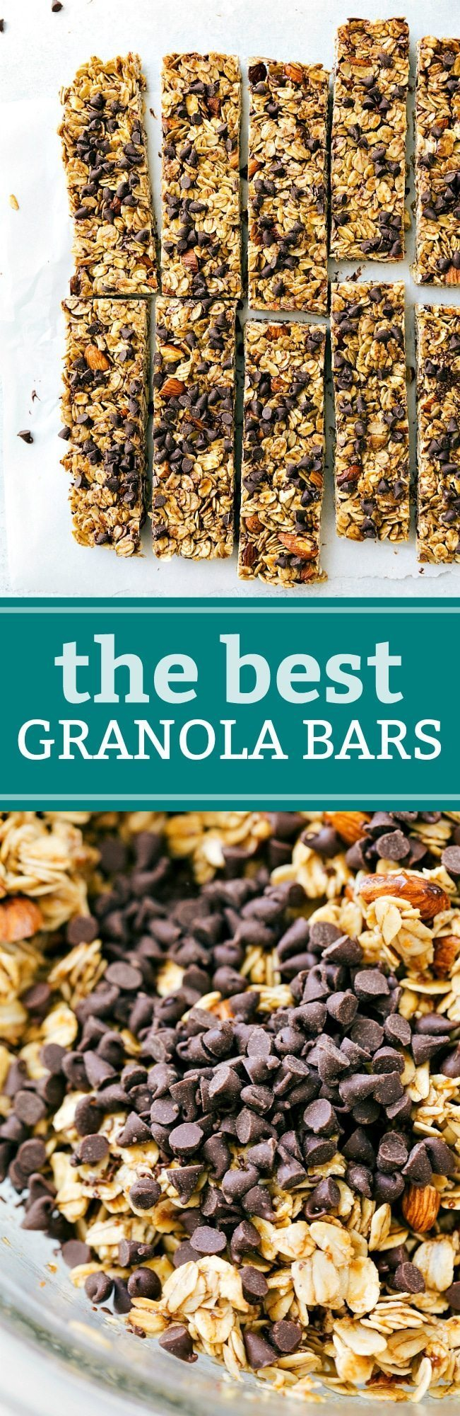 Homemade Granola Bars | Chelsea's Messy Apron