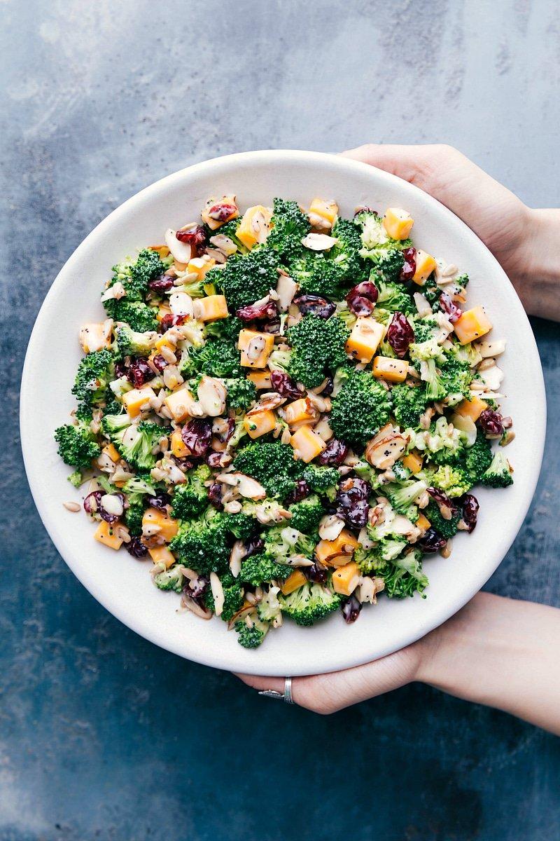 Lemon-Poppy Seed Broccoli Salad