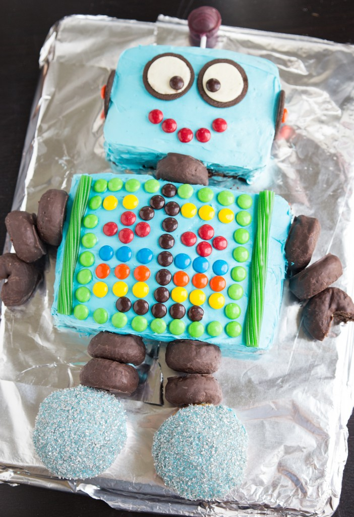 A Robot Birthday Party