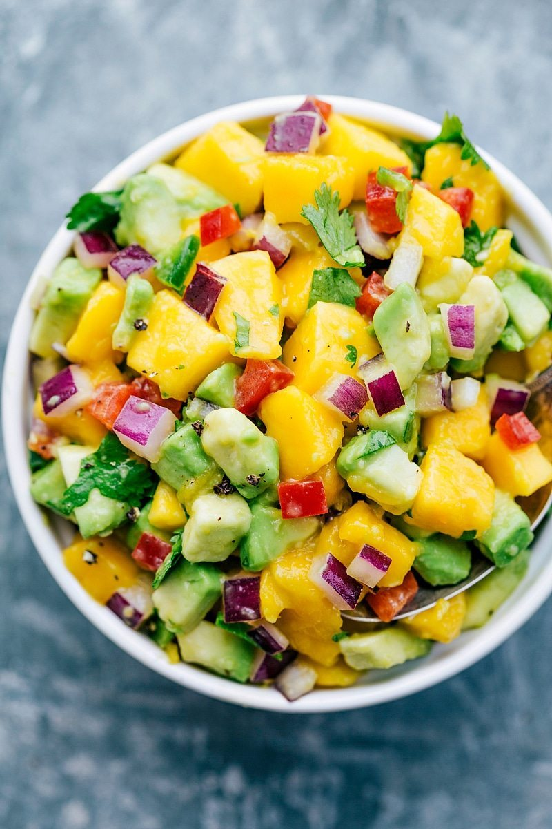 Mango Salsa Delicous And Easy To Make Chelsea S Messy Apron