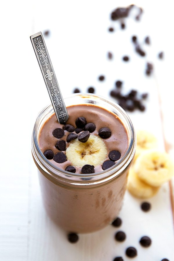 Peanut Butter Cup Protein Shake - Chelsea's Messy Apron