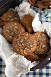 flourless almond apple muffins