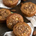 Flourless Almond Apple Muffins