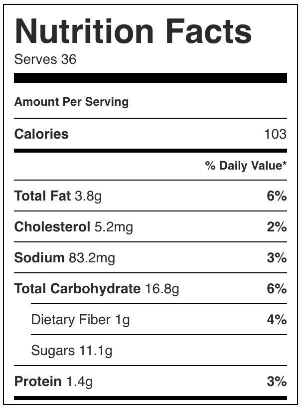 Calories in pumpkin cookies with cake mix