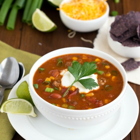 Delicious Fiesta Taco Soup