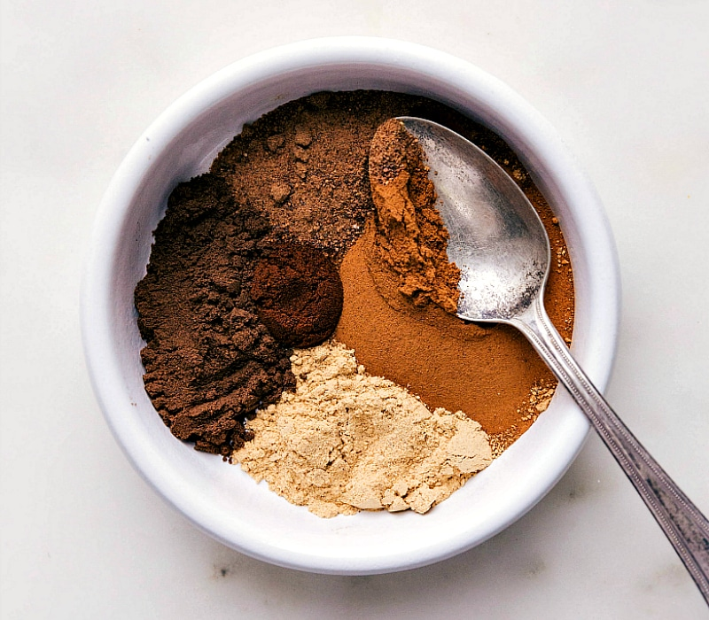 Image showing the ingredients for Pumpkin Pie Spice