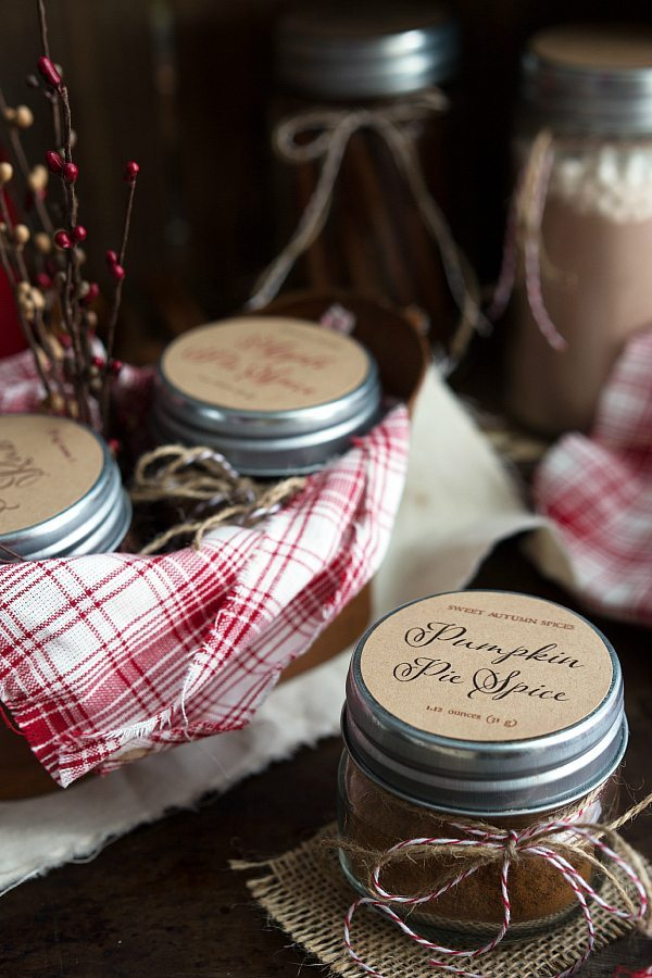 Pumpkin Pie Spice - Homemade with Free Printable