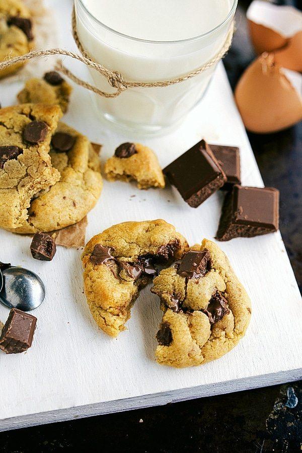 Easiest Half Batch Chocolate chip Cookies