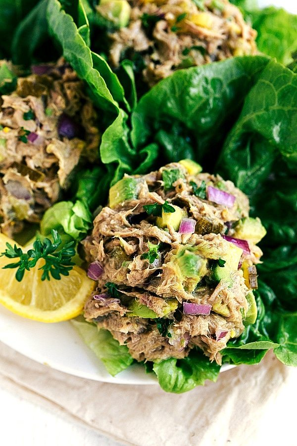 Easy and BEST ever tuna salad