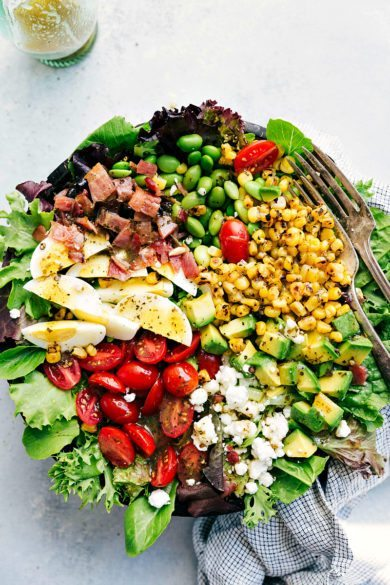 Cobb Salad with an Herb Vinaigrette