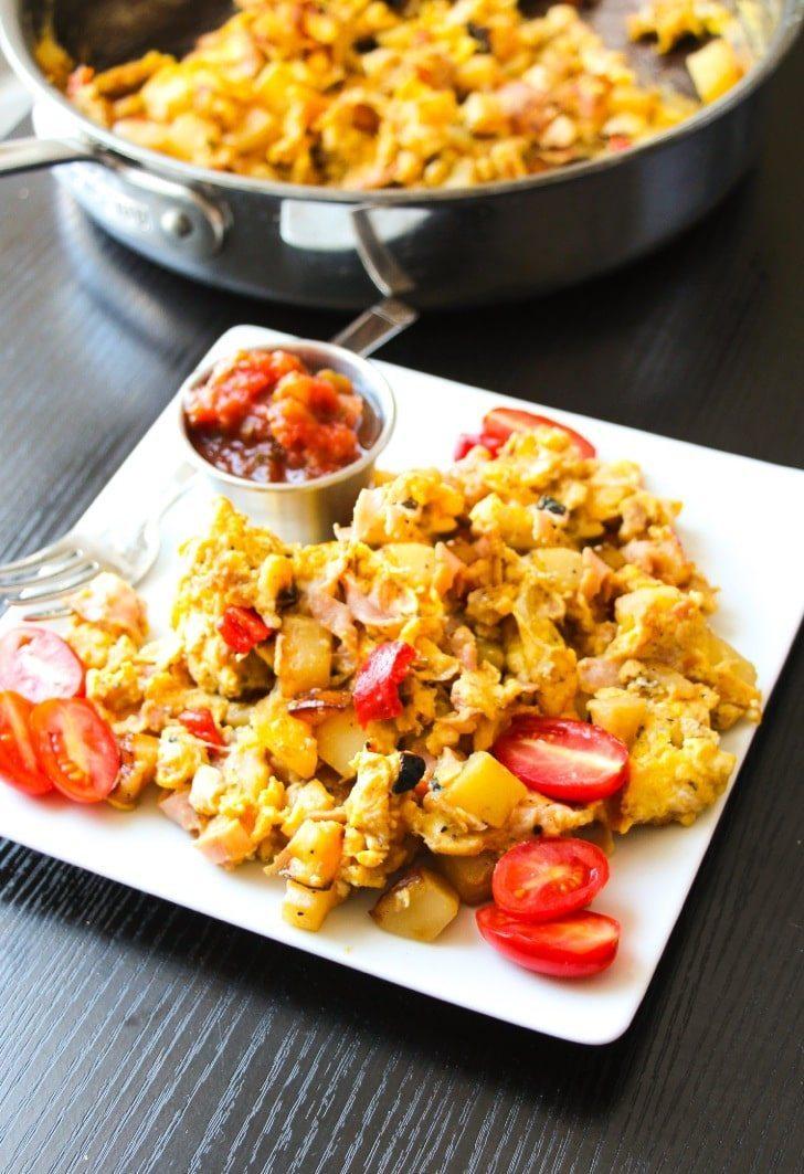 Easy Breakfast Egg Skillet