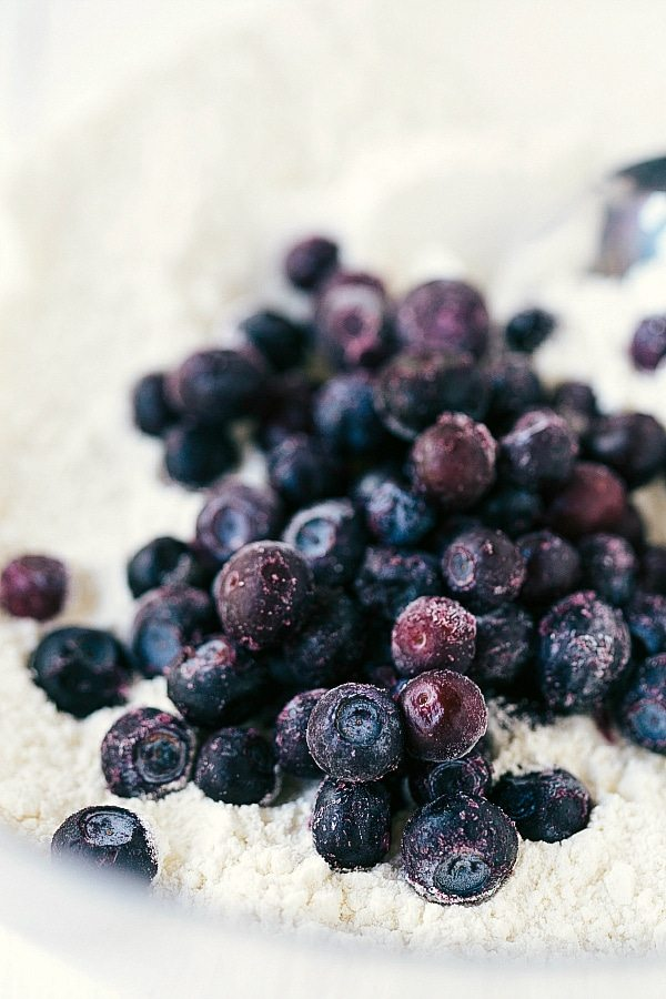 Healthy Blueberry-Muffins