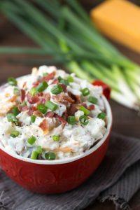 Ranchy Bacon Red Potato Salad